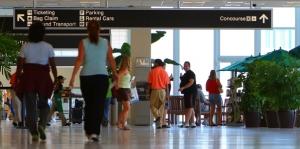 Instalaciones en el aeropuerto