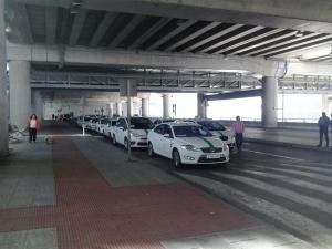 Aeropuerto de Alicante: Taxis