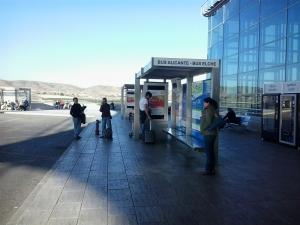 Aeropuerto de Alicante: Autobuses