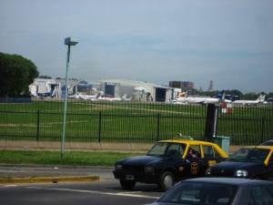 Aeroparque Jorge Newbery: Taxis