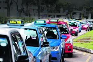 Taxis en Singapur