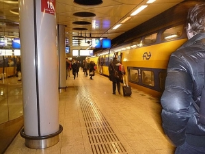 Trenes en el Aeropuerto de Ámsterdam-Schiphol