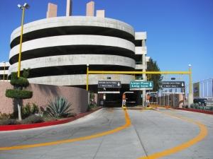 Estacionamiento en el Aeropuerto Internacional de Tijuana