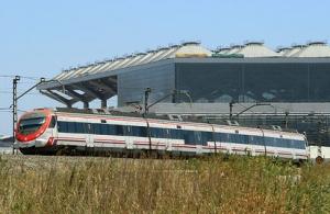 Aeropuerto de Málaga: Tren