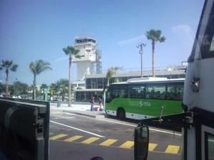 Transporte y desplazamiento en el Aeropuerto de Tenerife
