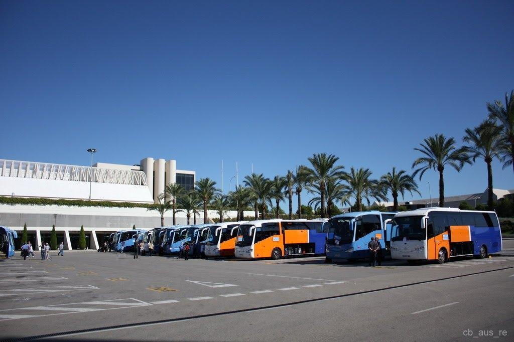 Aeropuerto de palma de mallorca pmi aeropuertos net - Transportes palma de mallorca ...