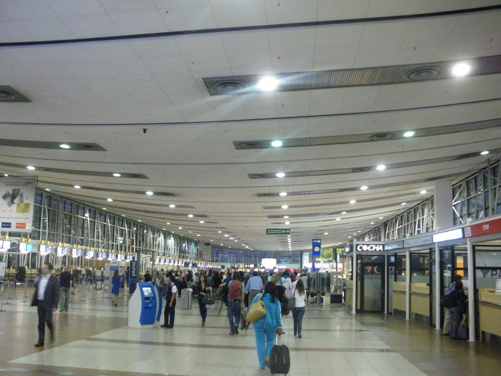 horario llegadas vuelos: