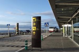 Instalaciones del Aeropuerto de La Palma