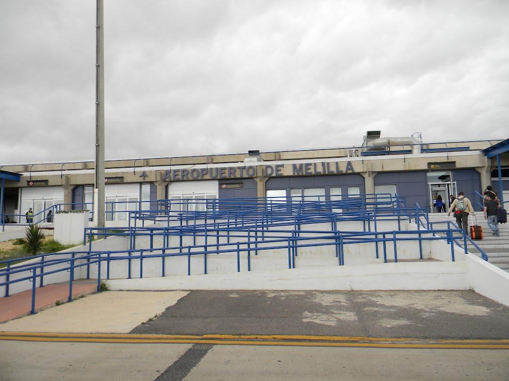 Aeropuerto de melilla mln aeropuertos net for Oficina correos melilla