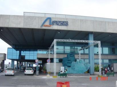 Aeropuerto de Palermo Punta Raisi