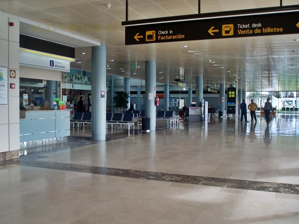 Aeropuerto de asturias ovd aeropuertos net for Santander oficinas valencia