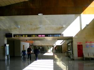 Instalaciones del Aeropuerto de Salamanca