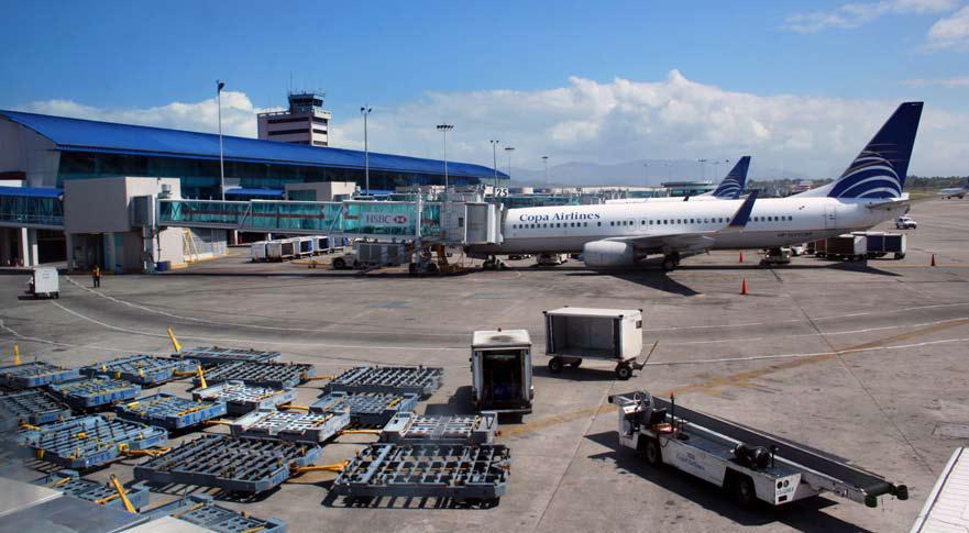 Llegadas de vuelos al Aeropuerto de Tocumen