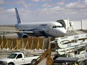 Llegadas de vuelos al Aeropuerto de Ciudad Juárez
