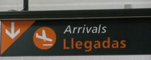 Llegadas de vuelos al Aeropuerto de Puerto Vallarta