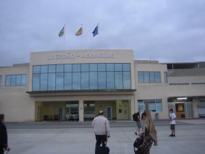 Llegadas de vuelos al Aeropuerto de Logroño