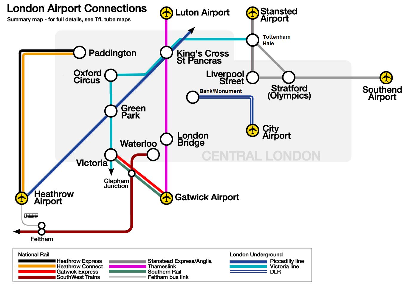 Aeropuertos y aerolíneas de Inglaterra - Aeropuertos.Net