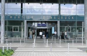 Puerta principal del Aeropuerto de Munster-Osnabruck