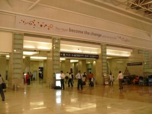 Salidas de vuelos desde el Aeropuerto de Bombay
