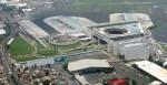 Vista aérea del Aeropuerto Benito Juarez
