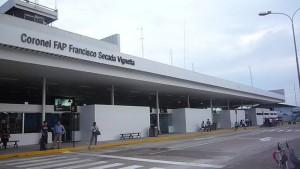 Salidas de vuelos desde el Aeropuerto de Iquitos