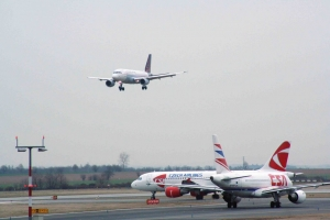 Llegadas de vuelos al Aeropuerto de Praga