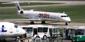 Llegadas de vuelos desde el Aeropuerto de Santa Fe