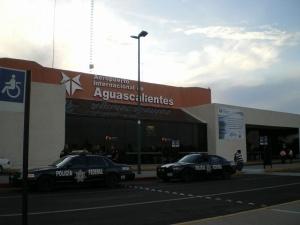 Llegadas de vuelos al Aeropuerto de Aguascalientes