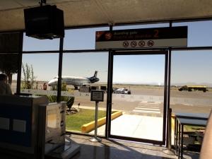 Salidas de vuelos desde el Aeropuerto de Aguascalientes