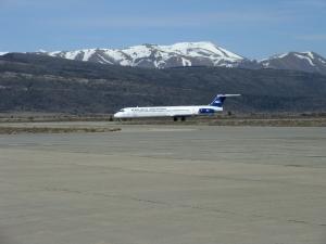 Llegadas de vuelos al Aeropuerto de Bariloche