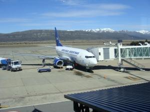 Salidas de vuelos desde el Aeropuerto de Bariloche