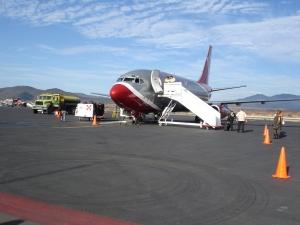Llegadas de vuelos al Aeropuerto de Cuernavaca