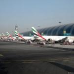 Aeropuerto Internacional de Dubái: Llegadas de vuelos