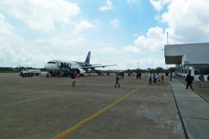Llegadas de vuelos al Aeropuerto de Iquitos