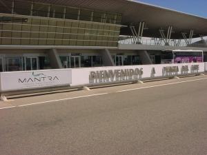 Llegadas de vuelos al Aeropuerto de Punta del Este