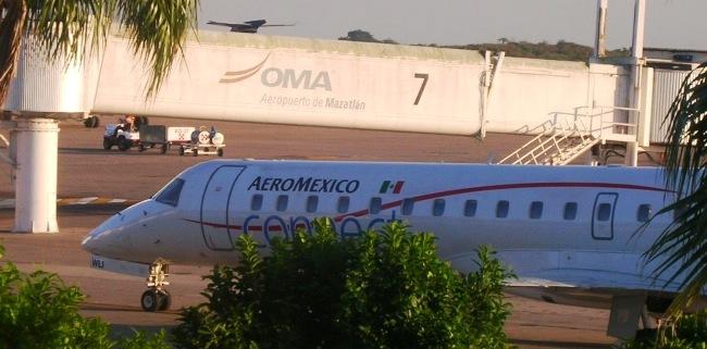 Llegadas de vuelos al Aeropuerto de Mazatlan
