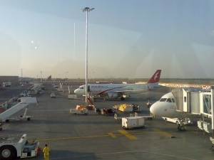 Llegadas de vuelos al Aeropuerto de Sharjah