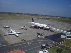 Llegadas de vuelos al Aeropuerto de Veracruz