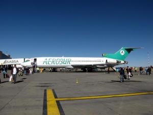 Llegadas de vuelos al Aeropuerto El Alto