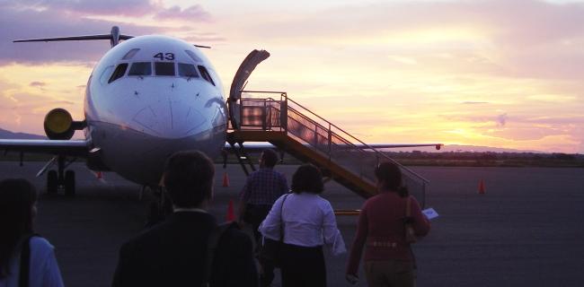 Aeropuerto Internacional General José Antonio Anzoátegui: Salidas vuelos