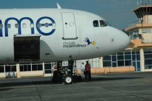 Llegadas de vuelos al Aeropuerto de Tachina Esmeraldas