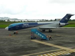 Salidas de vuelos desde Aeropuerto de Tachina Esmeraldas