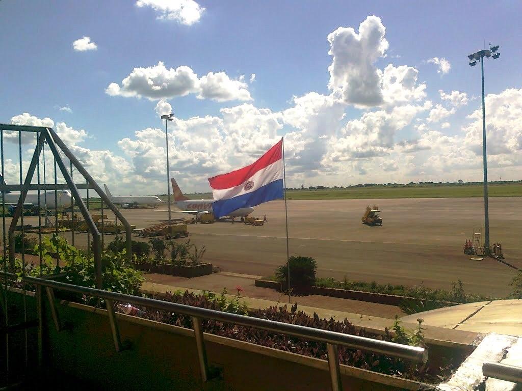Aeropuerto Internacional Guaraní: Llegadas de vuelos