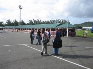 Llegadas de vuelos al Aeropuerto de Hewanorra