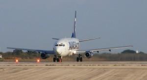 Llegadas de vuelos al Aeropuerto de Mérida