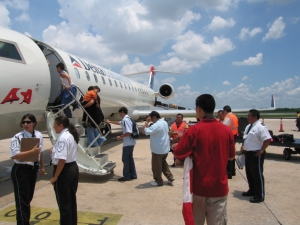 Salidas de vuelos desde el Aeropuerto de Mérida