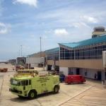 Aeropuerto Internacional Reina Beatriz: Salidas de vuelos