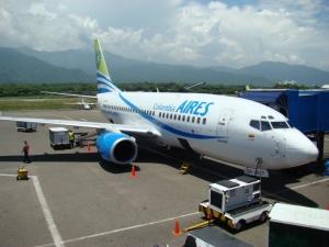 Llegadas de vuelos al Aeropuerto de Santa Marta