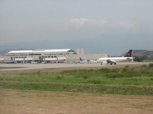 Llegadas de vuelos al Aeropuerto de San Pedro de Sula