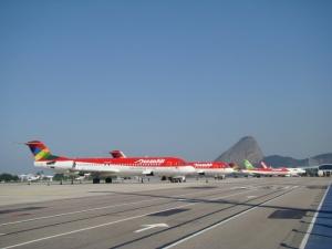 Llegadas de vuelos al Aeropuerto Santos Dumont